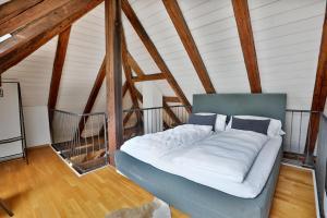Ein Bett oder Betten in einem Zimmer der Unterkunft Apartment Sissi
