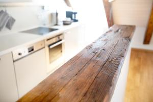Küche/Küchenzeile in der Unterkunft Apartment Sissi