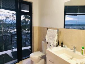 A bathroom at Sheer Pleasure Accommodation