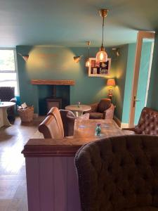 A seating area at The Brantwood Hotel