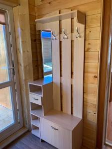 A bathroom at Rybatskiy Bereg