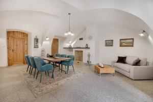 Posezení v ubytování Apartmány Šupina