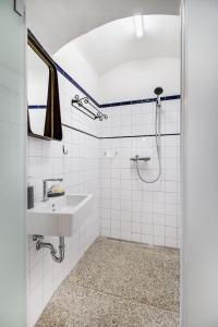 Koupelna v ubytování Apartmány Šupina