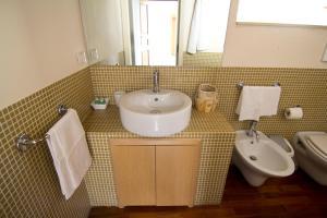 Salle de bains dans l'établissement La Via della Giudecca