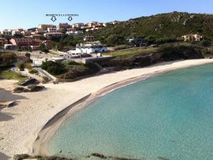A bird's-eye view of Comfortable Apartment in Sardinia with Swimming Pool