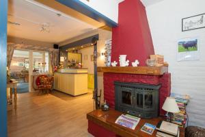 De lobby of receptie bij Hotel Eperhof