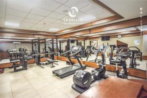 Salle ou équipements de sports de l'établissement Hotel La Falaise Bonapriso