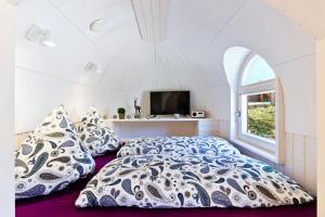Ein Bett oder Betten in einem Zimmer der Unterkunft Red Rock Resort