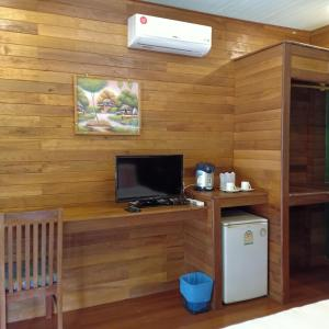 A television and/or entertainment centre at Suntisook Resort