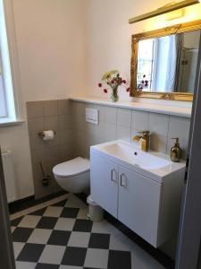 Ein Badezimmer in der Unterkunft Ferienhof Trapp