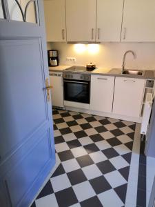 Küche/Küchenzeile in der Unterkunft Ferienhof Trapp