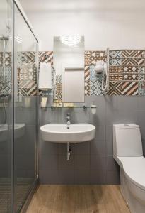 Ванная комната в Алеон Отель