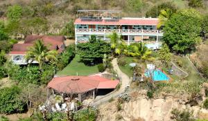 A bird's-eye view of Tamarind Tree Hotel
