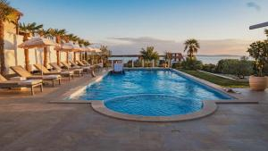 The swimming pool at or close to Luxury Apartments White Villa Violeta