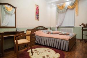 Кровать или кровати в номере Гостиница Орел