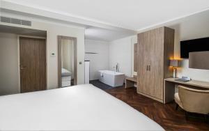 Ein Badezimmer in der Unterkunft Hotel De Lindeboom