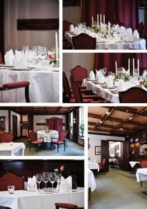 En restaurant eller et andet spisested på Herløv Kro Hotel