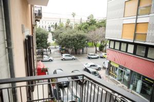 A balcony or terrace at Baristazionecentrale