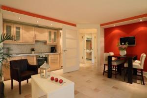 Küche/Küchenzeile in der Unterkunft Hotel La Casa