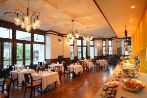Restaurant ou autre lieu de restauration dans l'établissement Nikko Station Hotel Classic