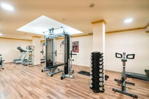 The fitness center and/or fitness facilities at Europe Villa Cortes GL