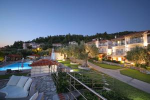 A view of the pool at Evlalia Studios & Villas or nearby