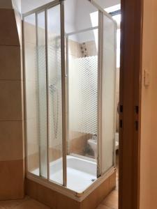 A bathroom at Impuls Noclegi