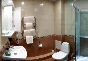 Ванная комната в Отель 9 Сов