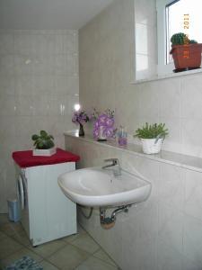 Ein Badezimmer in der Unterkunft Ferienwohnung Freund