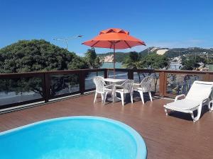 The swimming pool at or near Bella Natal Praia Hotel
