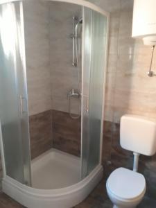 A bathroom at Apartments Jurlina
