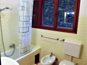 A bathroom at Ca del Portegheto