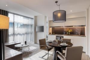 A television and/or entertainment center at Fraser Suites Sydney