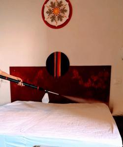Letto o letti in una camera di Madonna del Carmine