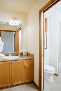 A bathroom at Juniper Springs Resort