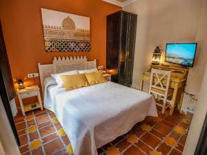 Cama o camas de una habitación en La Esperanza