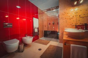 A bathroom at Casas do Prior