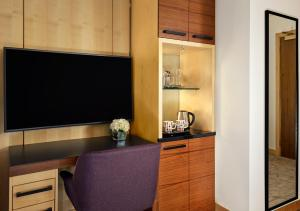 A television and/or entertainment centre at Park Plaza County Hall London