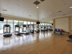 The fitness center and/or fitness facilities at Wyndham Garden Hotel Austin