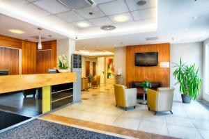 Lobby alebo recepcia v ubytovaní ACHAT Hotel Budapest
