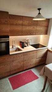 Cucina o angolo cottura di Casa Al Rin