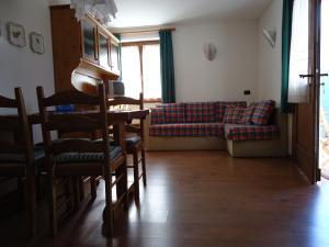 Area soggiorno di Appartamenti Mangiasa