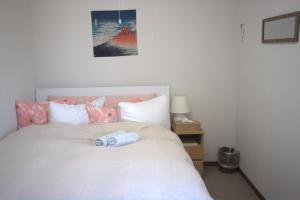 Cama o camas de una habitación en Hana Hostel Fujisan