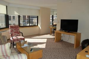 A television and/or entertainment center at The Marmara Manhattan