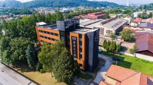 A bird's-eye view of Hotel Salis