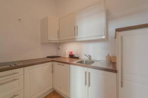 Kuchyň nebo kuchyňský kout v ubytování BRAND-NEW SCHÖNBRUNN PALACE RESIDENCE