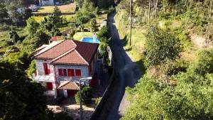 A bird's-eye view of Vila Aurora