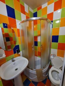 A bathroom at Guest House Afina