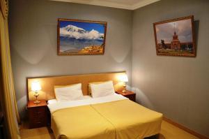 Кровать или кровати в номере Мини-отель «АНИ»