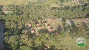 A bird's-eye view of Pousada Ecológica Rio do Peixe